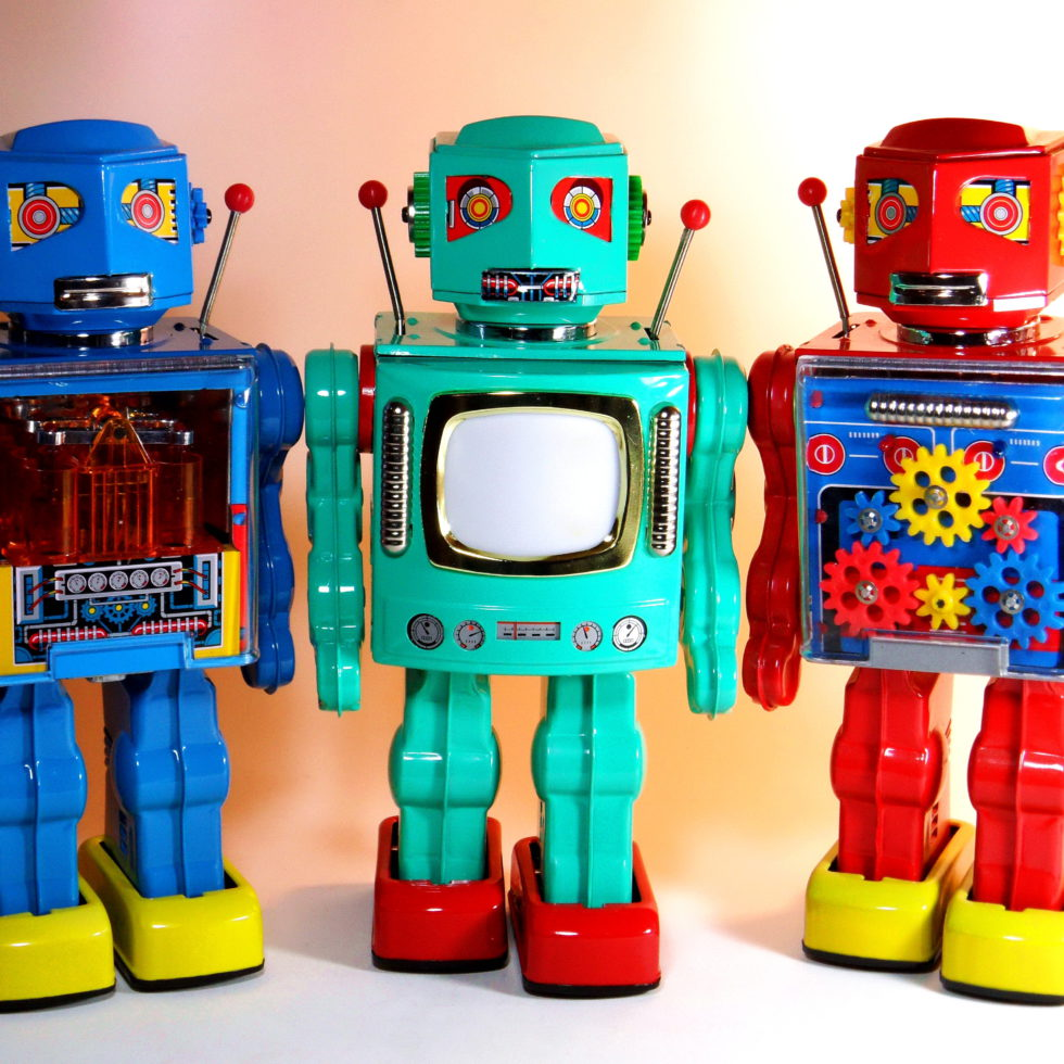 Metal House – Battery Operated – New 2010 Robots – You are Three Times a Robot~~